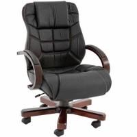 Cooper Çalışma Koltuğu Ahşap Ofis Sandalyesi Büro Koltuğu