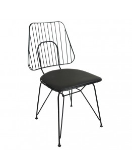 Deniz Tel Sandalye Cafe Sandalyesi Mutfak Sandalye