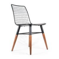 Kolsuz Tel Sandalye Mutfak Sandalyesi Balkon Sandalyesi Salon Sandalye