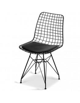 Tel Sandalye Mutfak Sandalyesi Bahçe Sandalyesi Balkon Sandalyesi